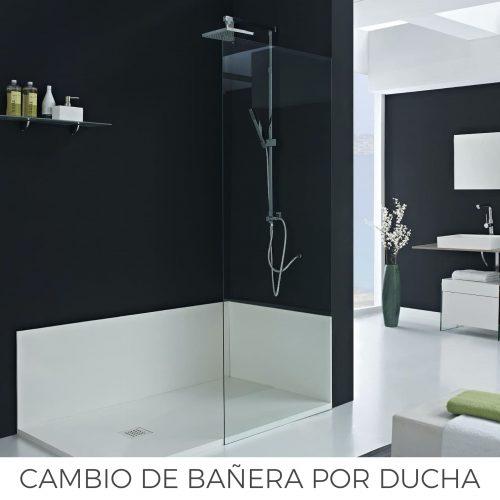 Cambio de bañera po ducha en Avilés Nubanny