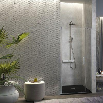 Mamparas de ducha abatibles Nubanny en Avilés