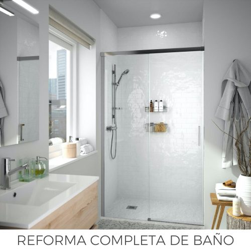 Reforma completa de baño en Avilés Nubanny